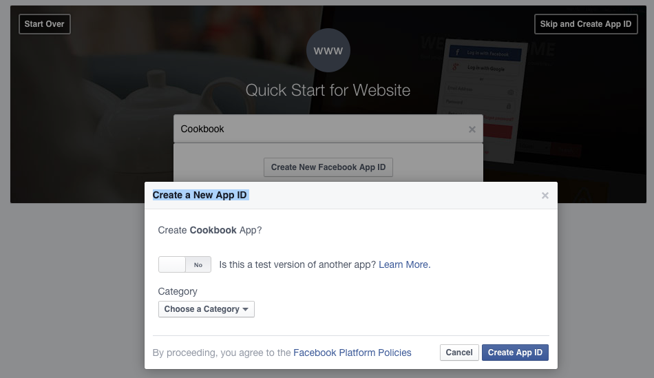 Create A User Authentication System with Facebook and Laravel Socialite
