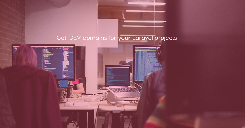 Get .DEV domains for your Laravel projects