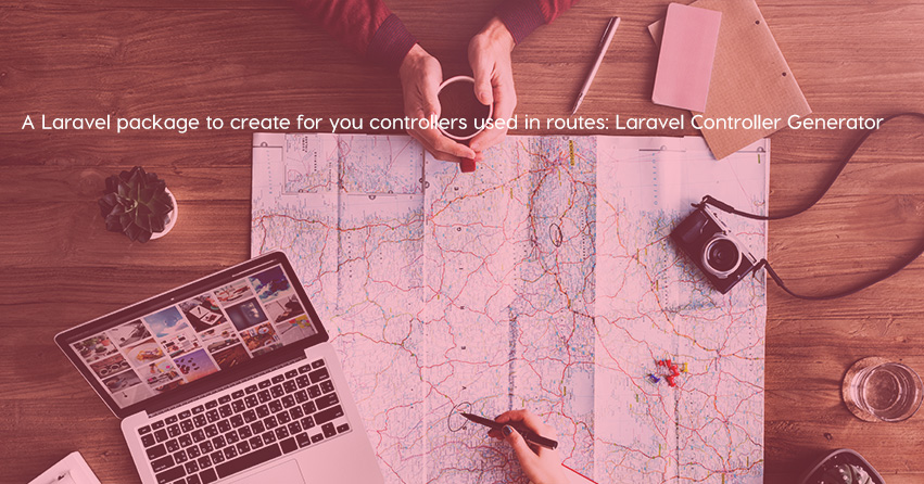 A Laravel package to create for you controllers used in routes: Laravel Controller Generator