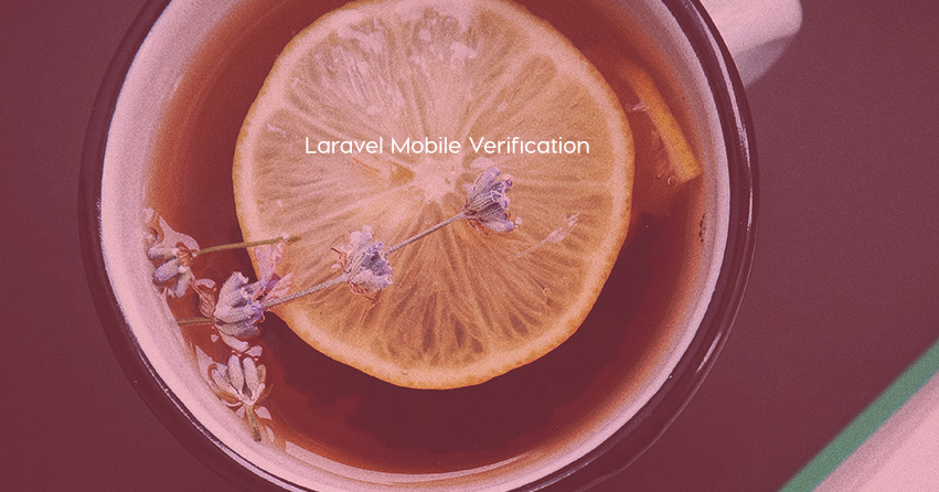 laravel mobile verification