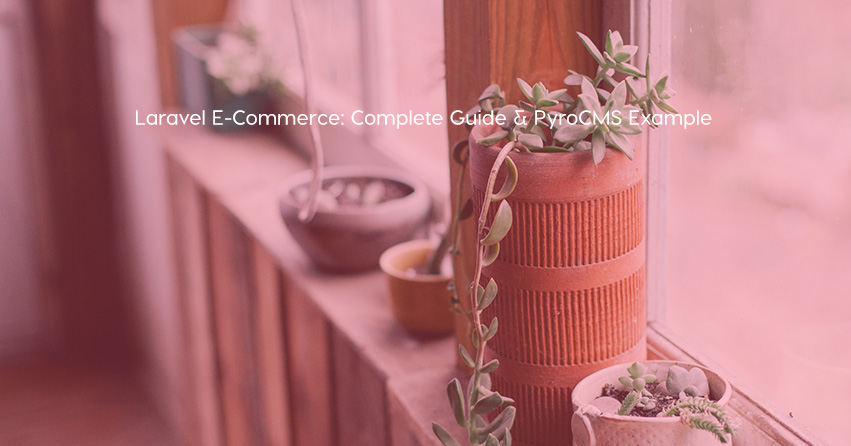 Laravel E-Commerce: Complete Guide & PyroCMS Example