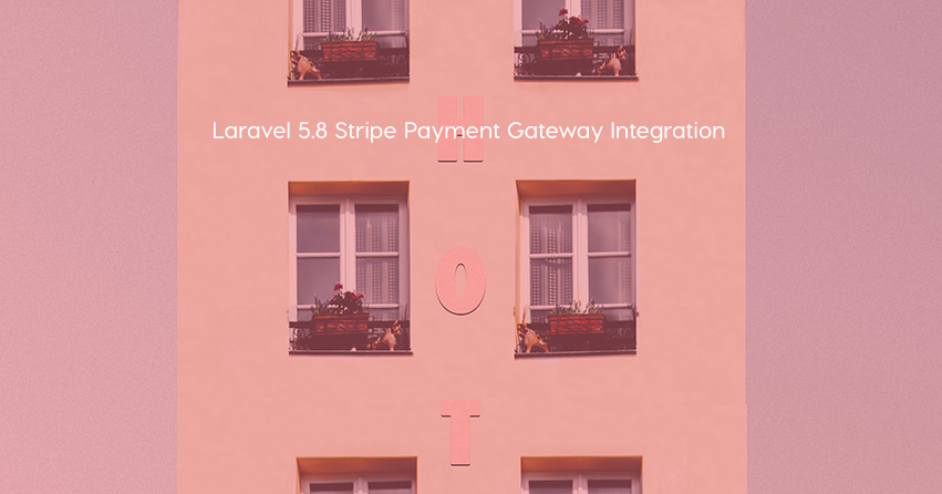 Laravel 5.8 Stripe Payment Gateway Integration