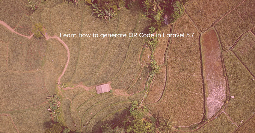 Learn how to generate QR Code in Laravel 5.7