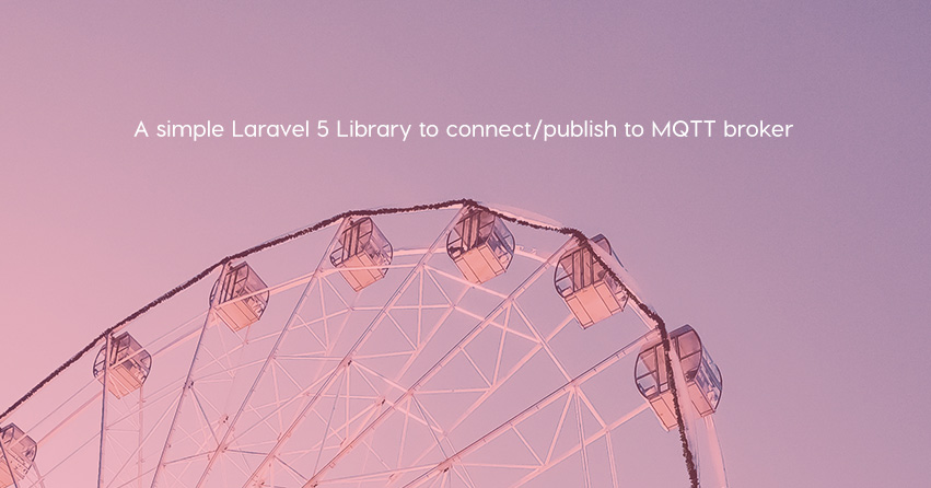 A simple Laravel 5 Library to connect/publish to MQTT broker