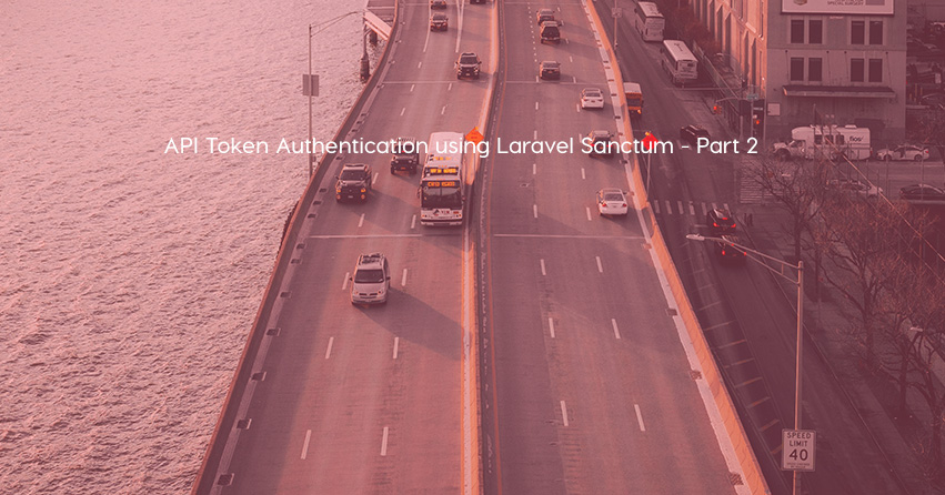 API Token Authentication using Laravel Sanctum - Part 2