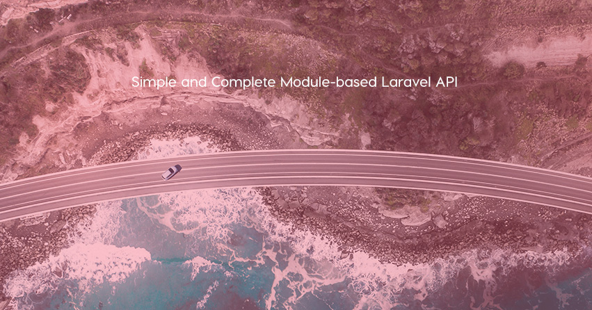 Simple and Complete Module-based Laravel API