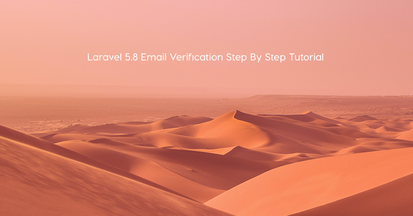 Laravel 5.8 Email Verification Step By Step Tutorial