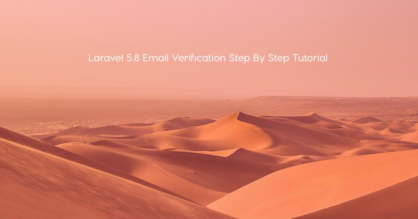 Laravel 5.8 Email Verification Step By Step Tutorial