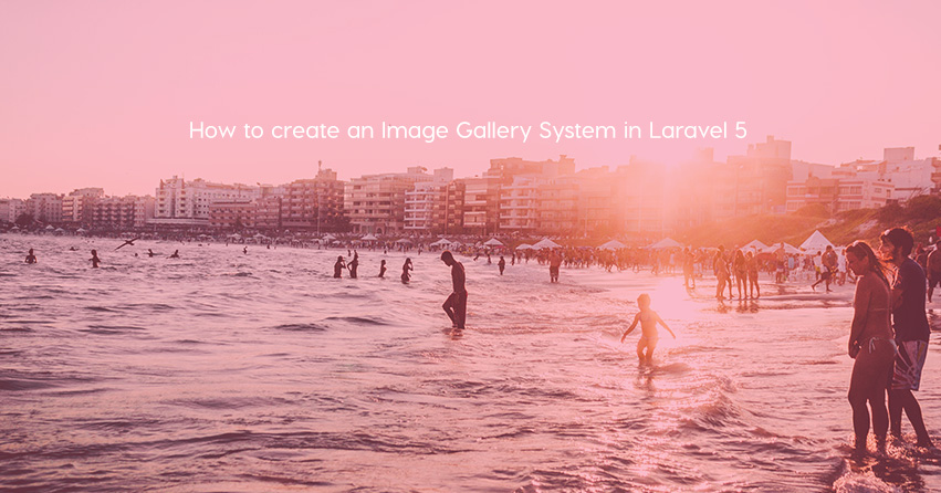 How to create an Image Gallery System in Laravel 5