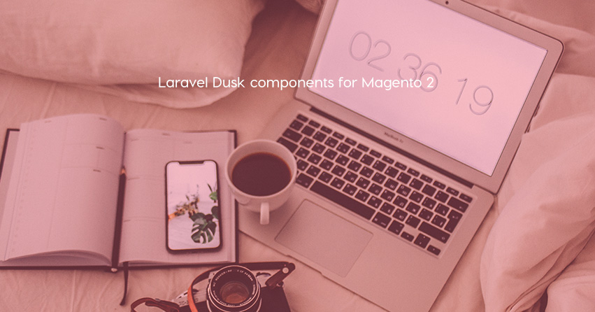 Laravel Dusk components for Magento 2