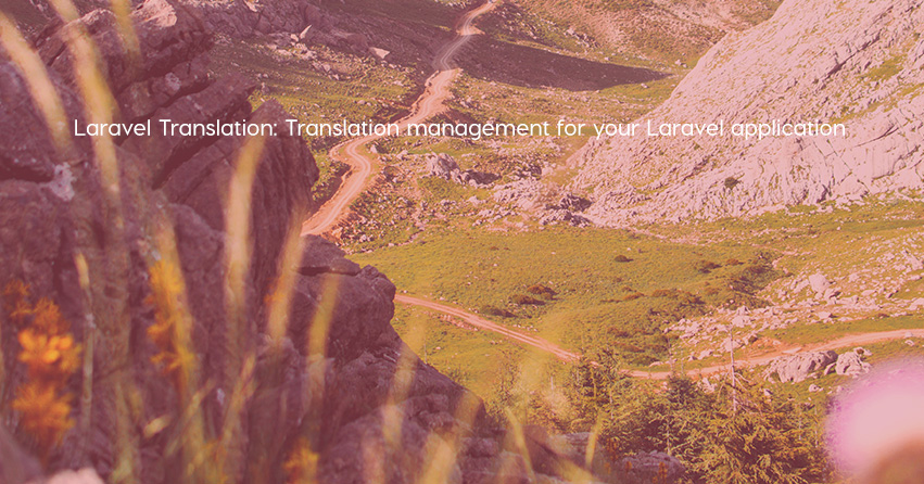 Laravel Translation: Translation management for your Laravel application