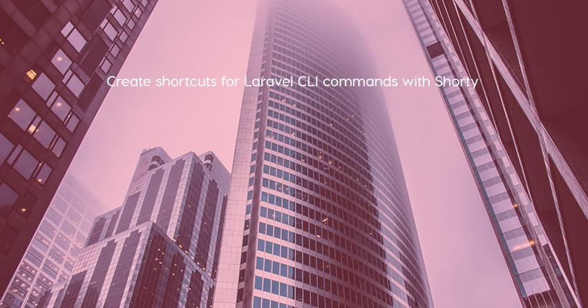 Create shortcuts for Laravel CLI commands with Shorty