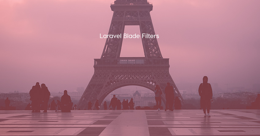 Laravel Blade Filters