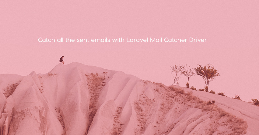 Laravel Mail Catcher Driver
