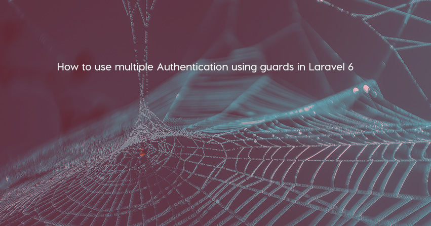How to use multiple Authentication using guards in Laravel 6