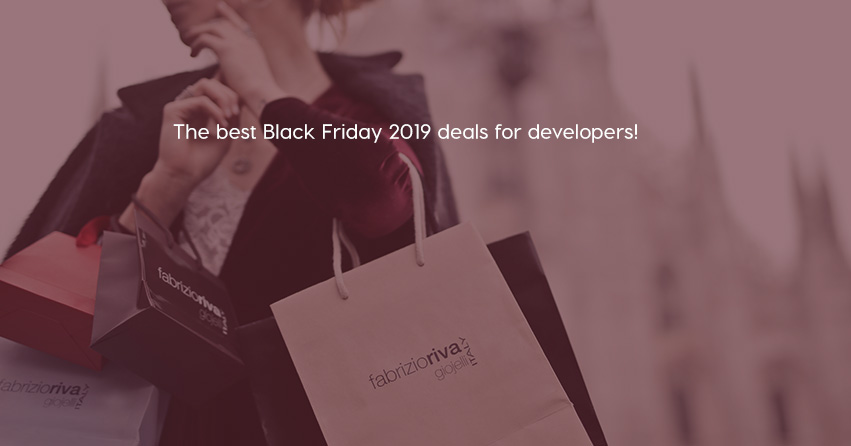The best Black Friday 2019 deals for developers!
