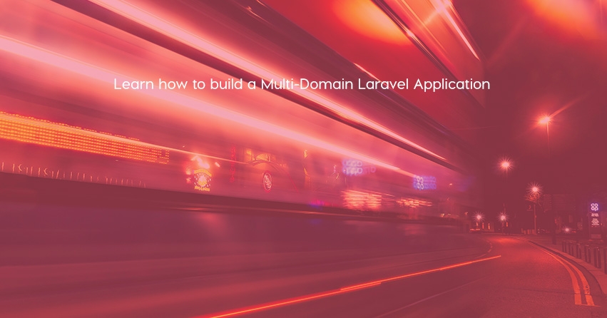 multi domain laravel application
